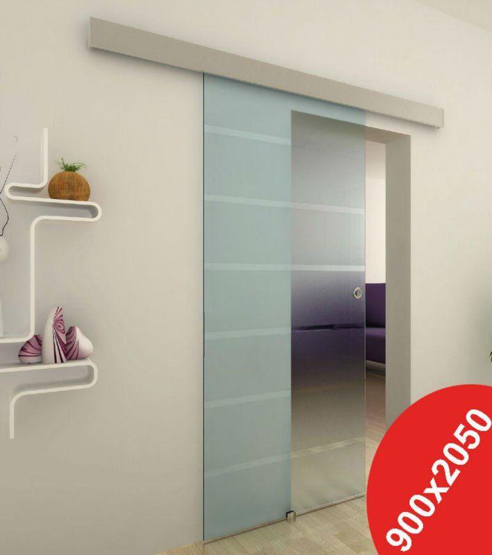 Dorma rs120 elegante aluminio puertas correderas de - Puertas de vidrio para interiores ...