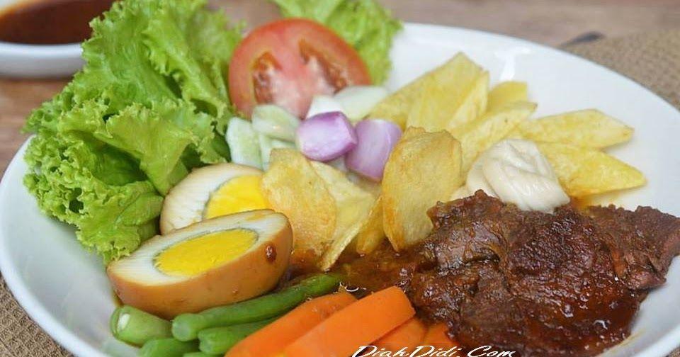 Selat Solo Komplet Resep Masakan Makan Malam Masakan