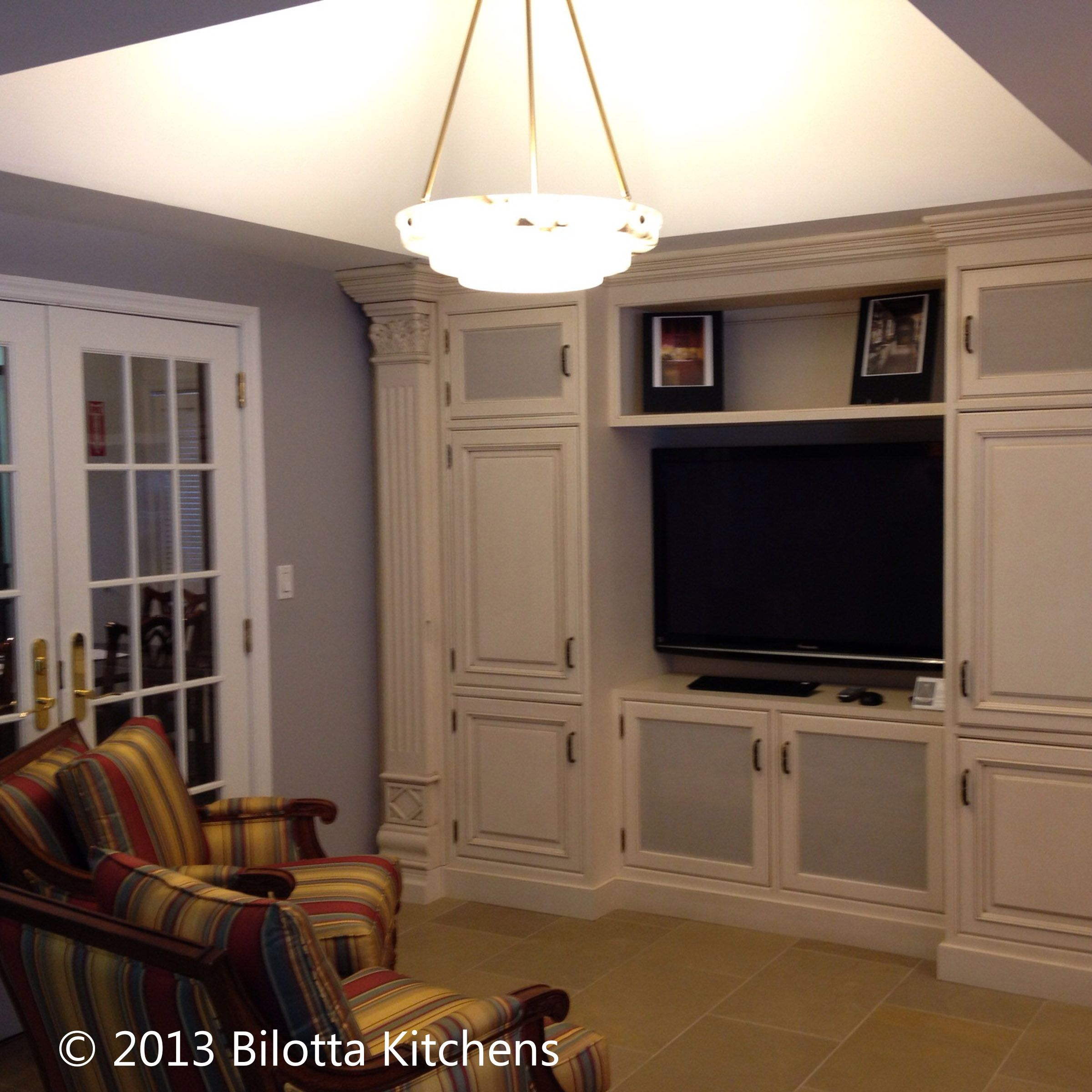 Mel Elion Used A Classic Tray Ceiling Here Creating A