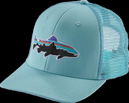 6947dc7ca022a Patagonia Fitz Roy Trout Trucker Hat Cuban Blue