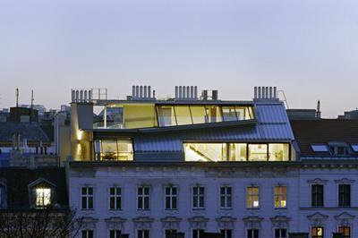 Dachausbau foto hertha hurnaus roofs pinterest - Lakonis architekten ...