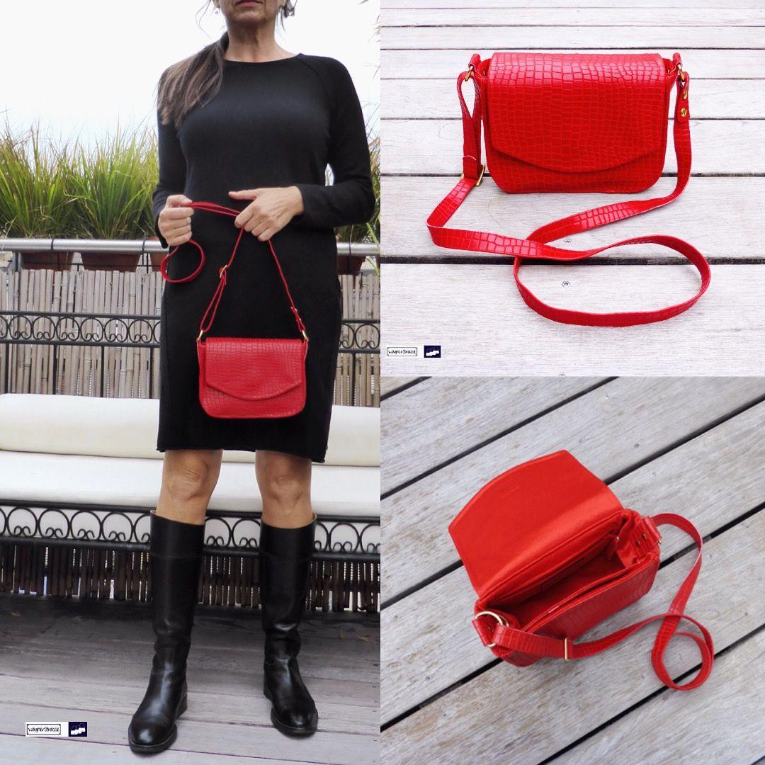Werbung,ad] Jede Frau BRAUCHT ❤️eine rote Tasche! Sie verleiht