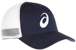 ASICS-Mens-Neutron-Snapback-Adjustable-Hat-Navy-White  a2198ad1dba3