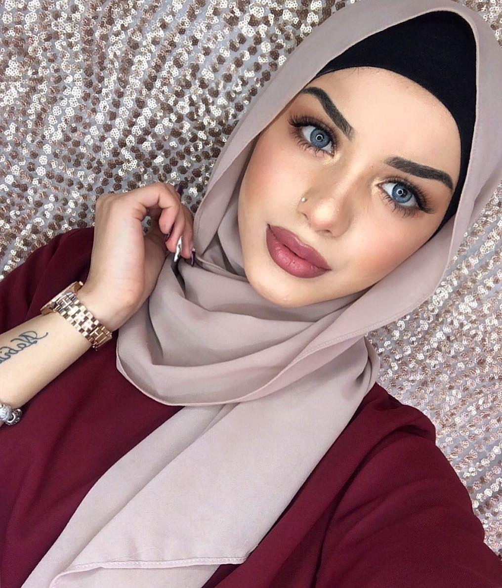 Hijab Fashion Inspiration In 2020 Hijab Style Tutorial Cute766