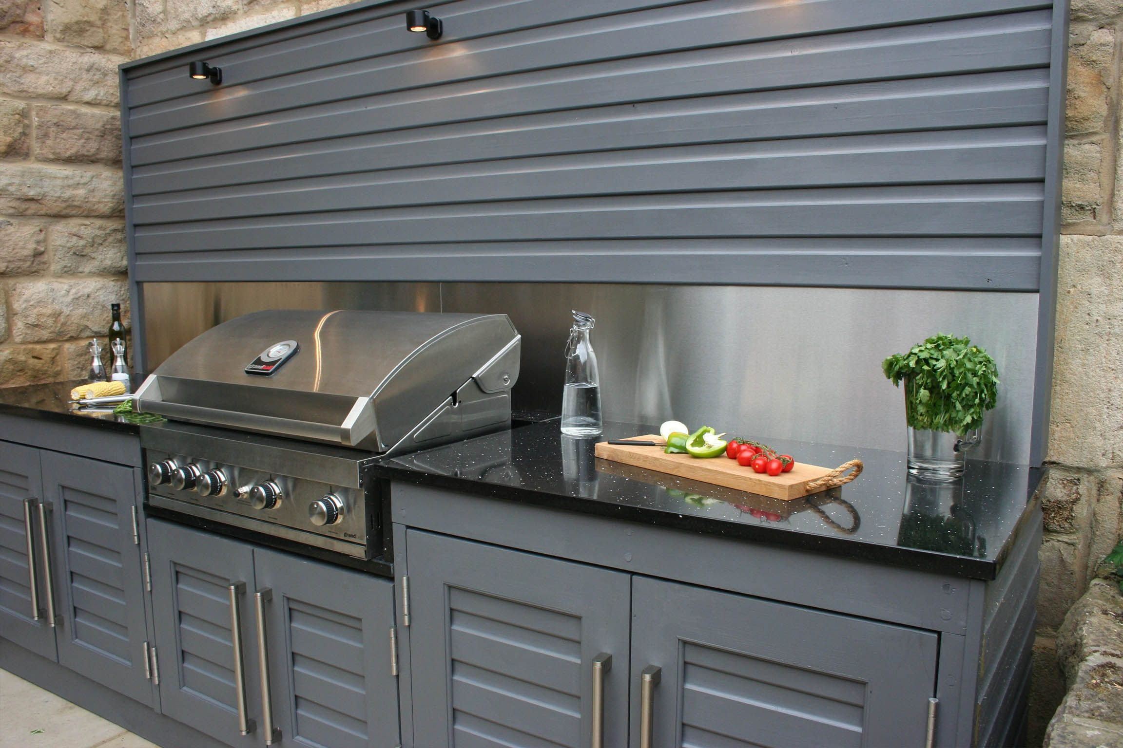 Outdoor kitchen by bestall u co garden design patios pinterest
