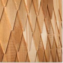 Builddirect cedar west decorator shingles little brick for Multi cedar shingles