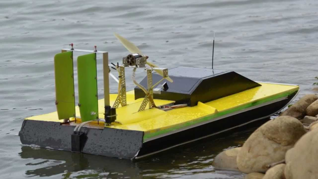 Electric Airboat Rc Hansie Toys Radio Control Boat
