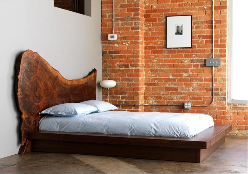 Image Result For Live Edge Bed Headboard Designs Bed Design Wooden Bed Frames