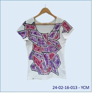fabric painting - t-shirt - thick lined pattern | website & blog ...