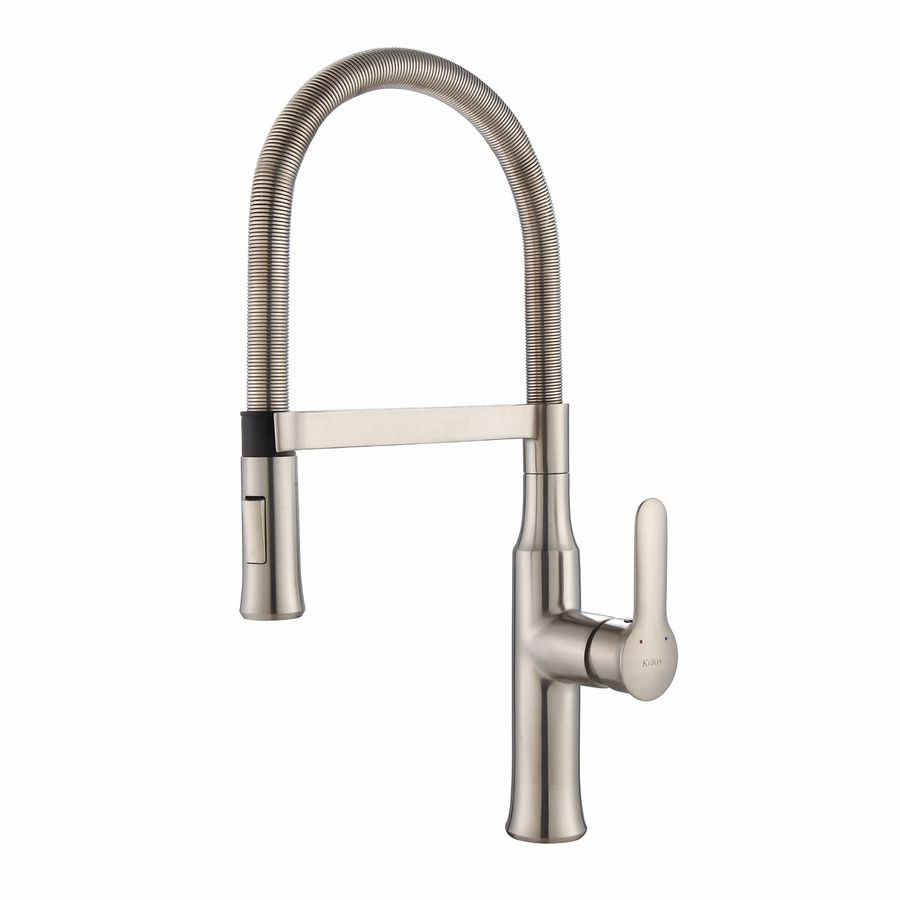 Kraus Nola Stainless Steel 1-Handle Pre-Rinse Kitchen Faucet Kpf ...