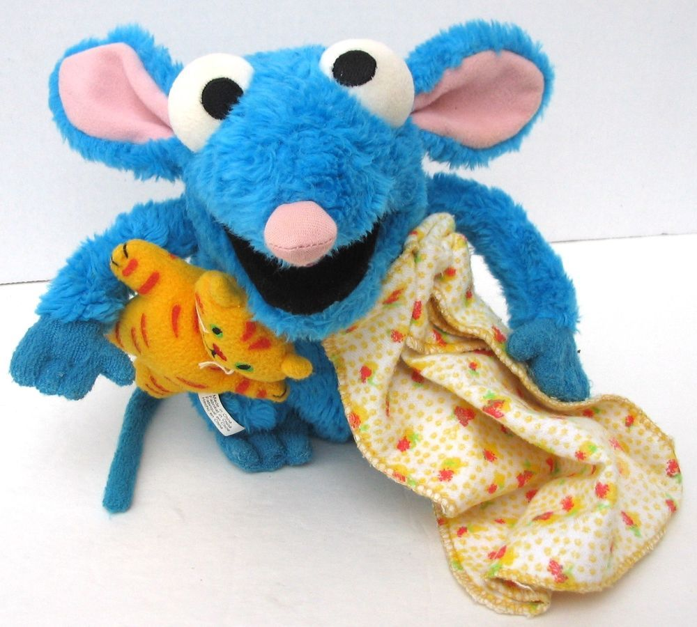 7 Disney Bear In The Big Blue House Tutter Mouse Plush Toy With