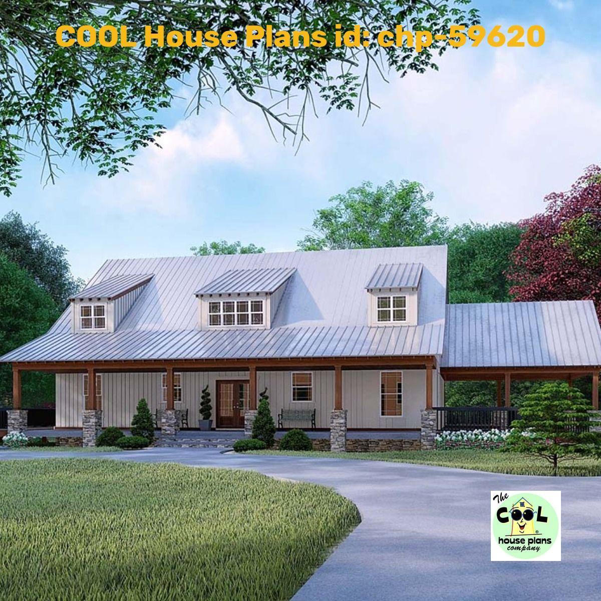 Farmhouse Style House Plan 82526 With 3 Bed 4 Bath 2 Car Garage Farmhouse Style House Plans House Plans Farmhouse House Plans