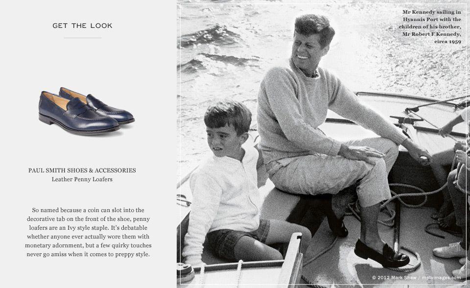 Icon Kennedy MR The PORTER Journal F Style John President 1qSvIq