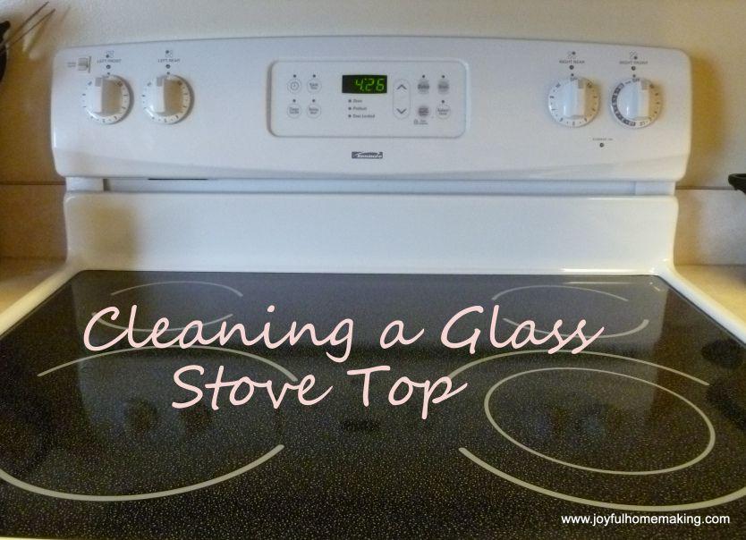 Rengøring af glas-kogeplade  Bagepulver Klud