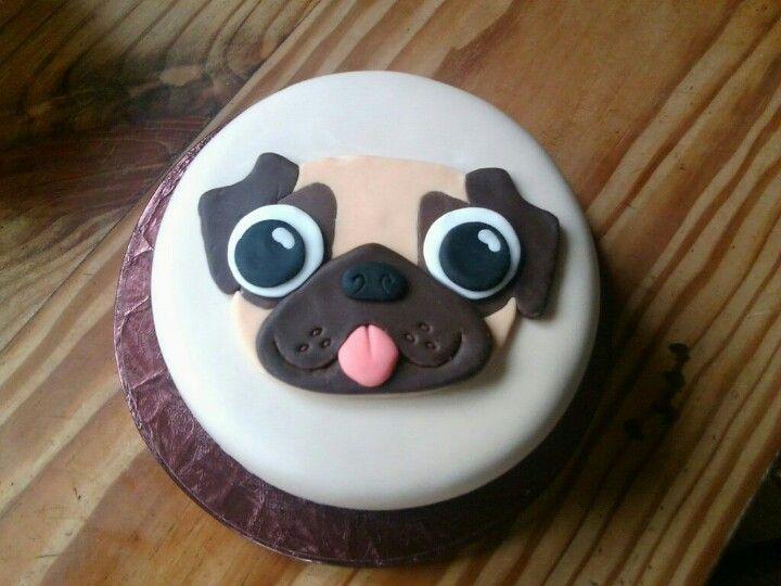 Awesome Pug Cake Pug Cake Pug Birthday Cake Dog Cakes