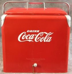 Wooden Coca Cola Ice Chest