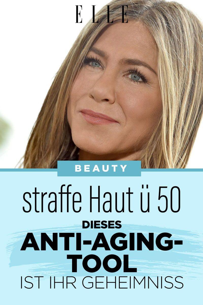 Durch Dieses Anti Aging Tool Behalt Jennifer Aniston Ihre Straffe Haut In 2020 Straffe Haut Haut Schonere Haut