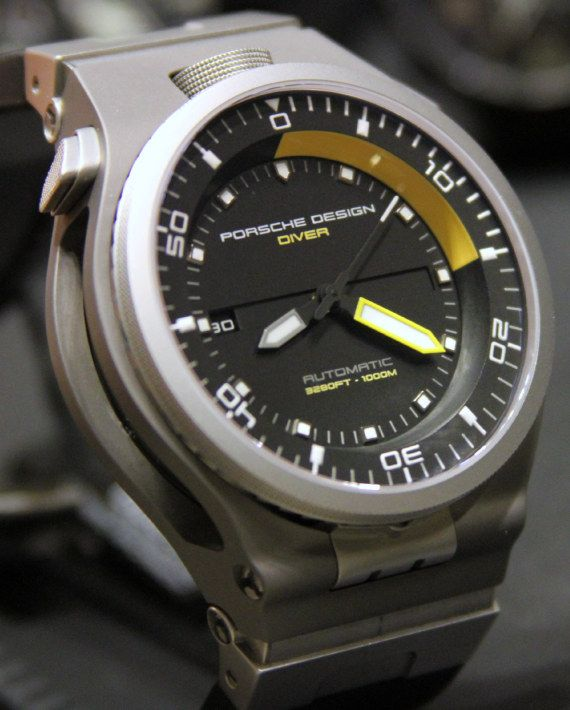 Porsche Design P6780 Diver Watch Is Hand Me Down Eterna Watches