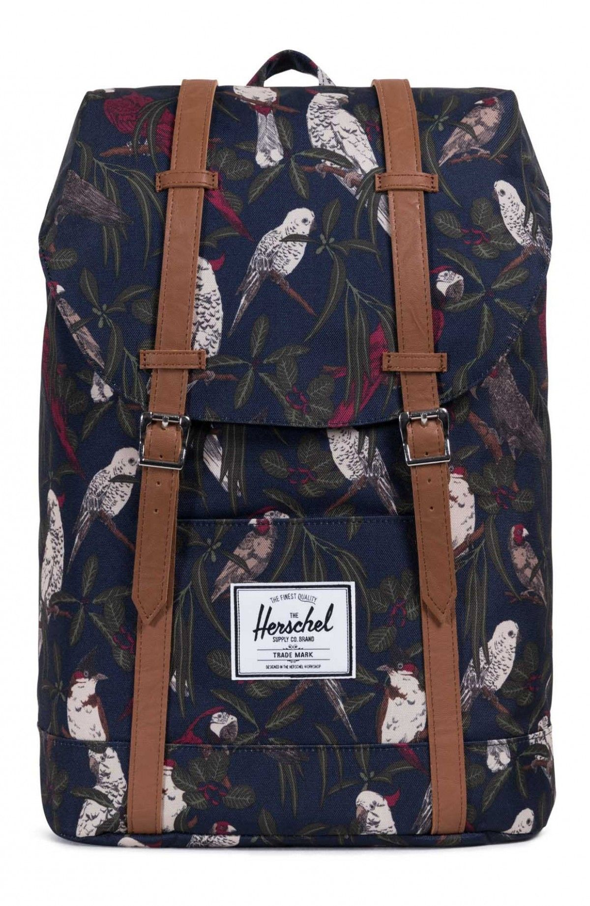 fa5e490bda Herschel Retreat Backpack 600D Poly Peacoat Parlor