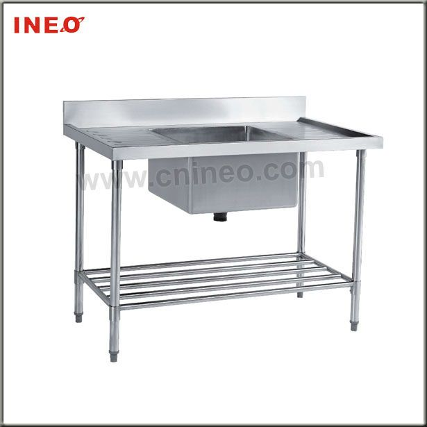 For Hotel Kitchen Used Commercial Stainless Steel Sinks Outdoor