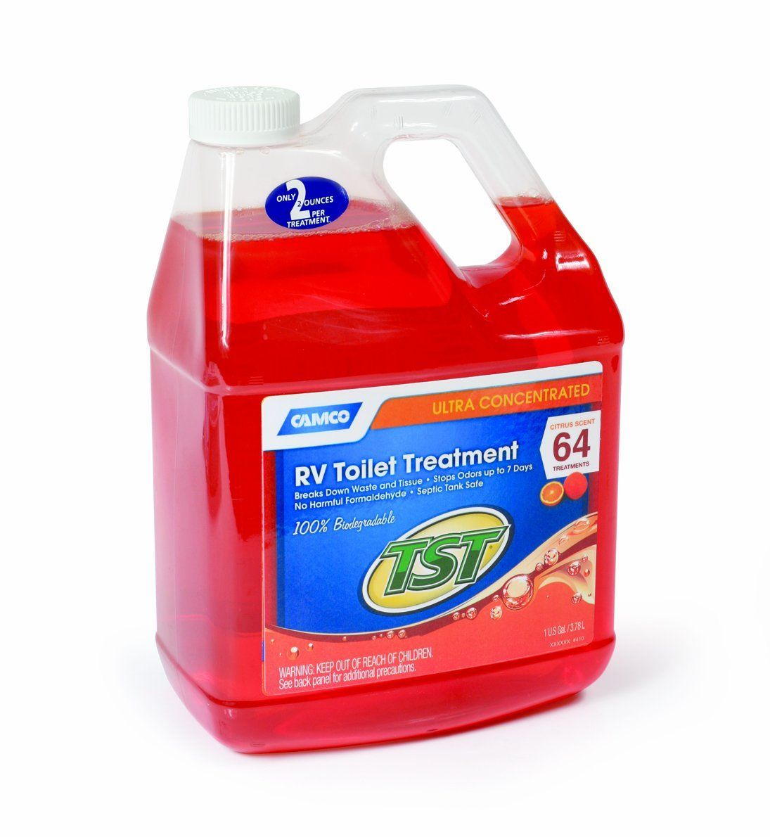 Camco 41197 Tst Orange Holding Tank Chemical 1 Gallon For More Information Visit Image Link This Is An Amazon Affiliat Septic Tank Orange Scent Gallon