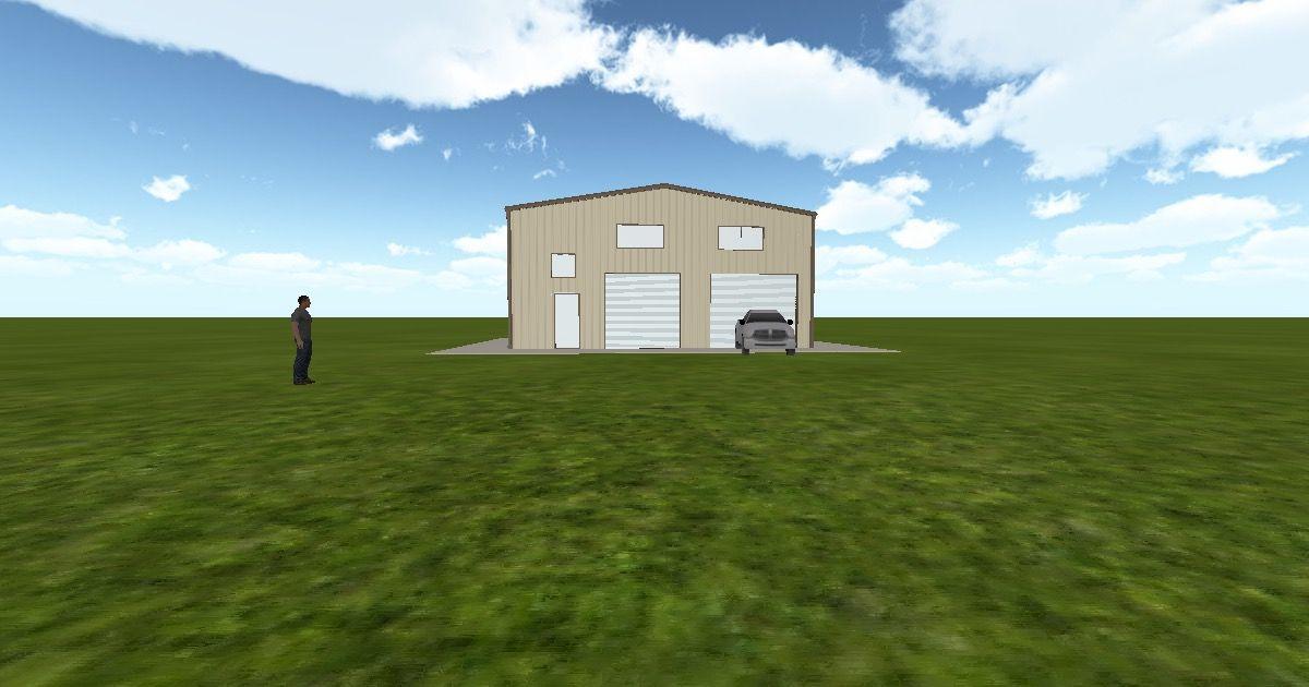 Cool 3D #marketing http://ift.tt/2kEaxA2 #barn #workshop #greenhouse #garage #roofing #DIY