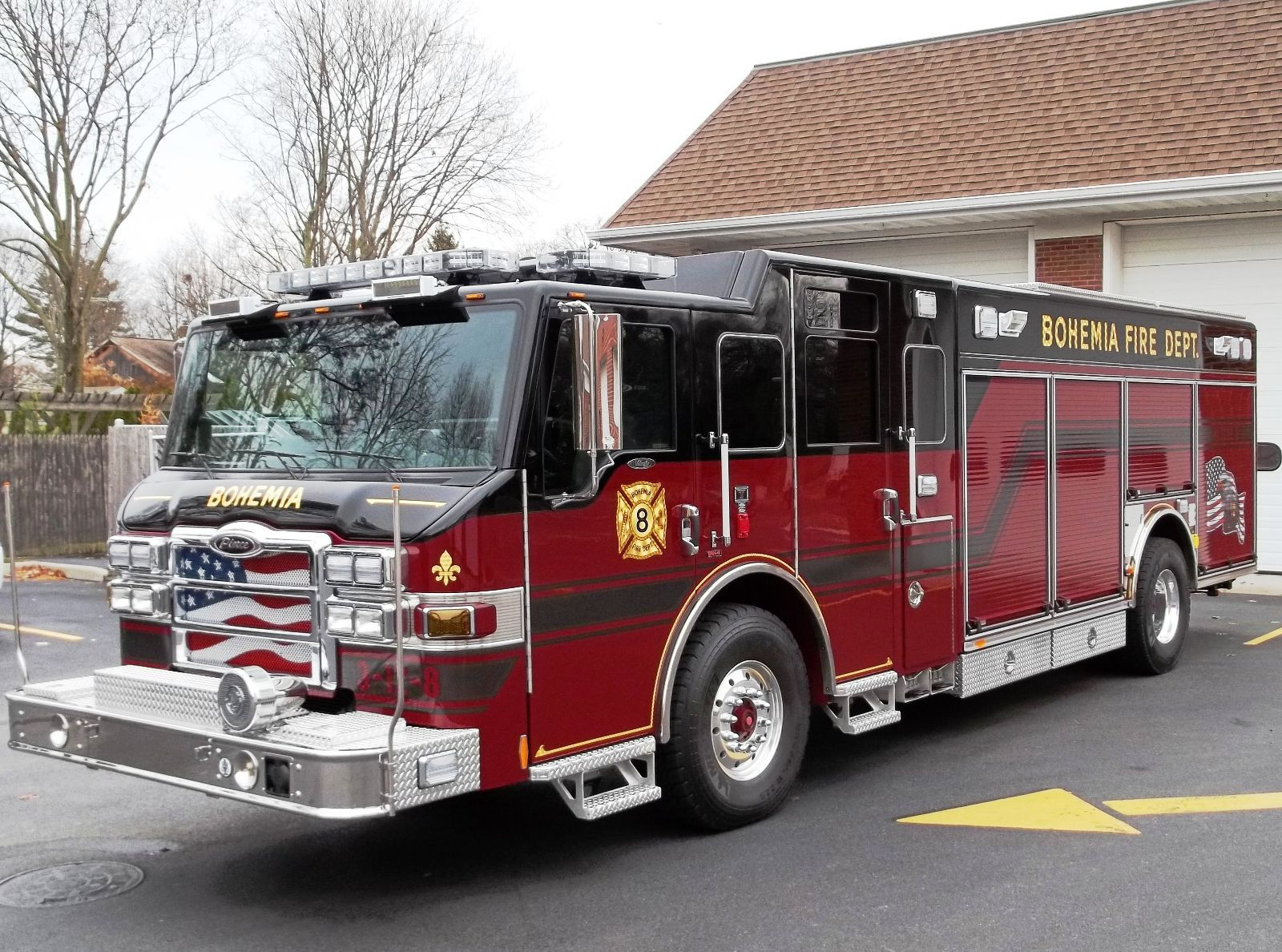 Congrats to the members of the houston fire department on the recent delivery of their new svi heavy rescue from metro fire apparatus specialist