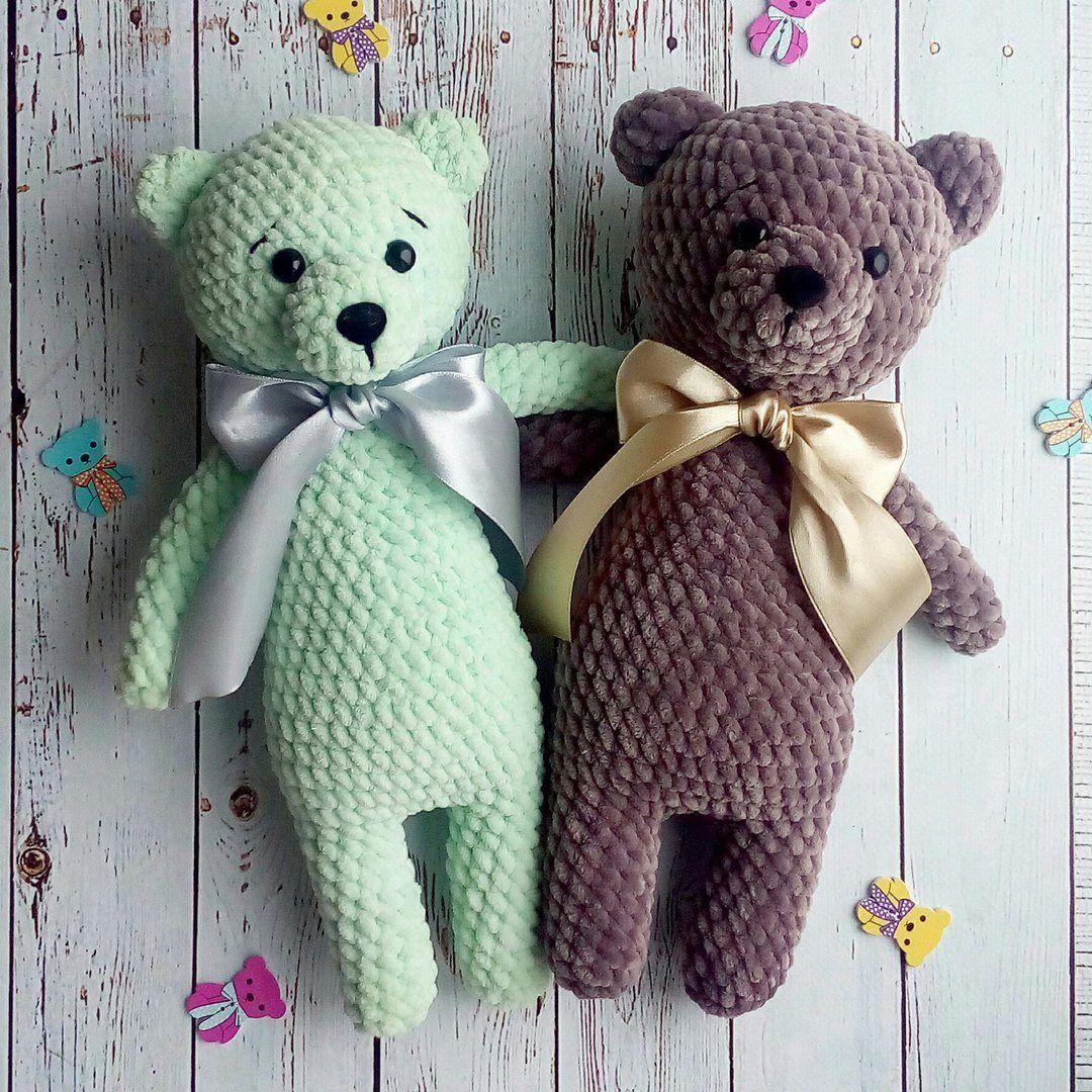 Crochet toys bears amigurumi   важное   Pinterest   Bautizo ...