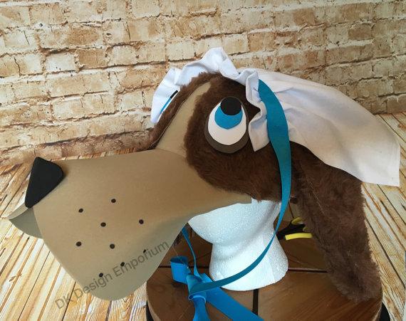 Nana Dog Costume Hat - Dog Hat - Peter Pan Inspired Costume Cap - Dog Costume - Tinkerbell Inspired Costume Accessory - Darling - Cosplay 4f8RoE