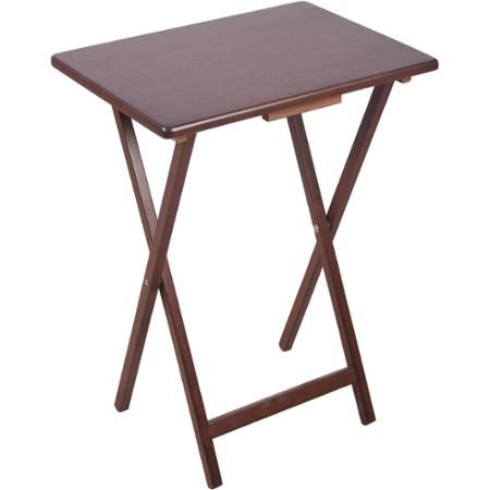 Folding Tv Tray Walnut Folding Tv Trays Tv Trays Tray Table