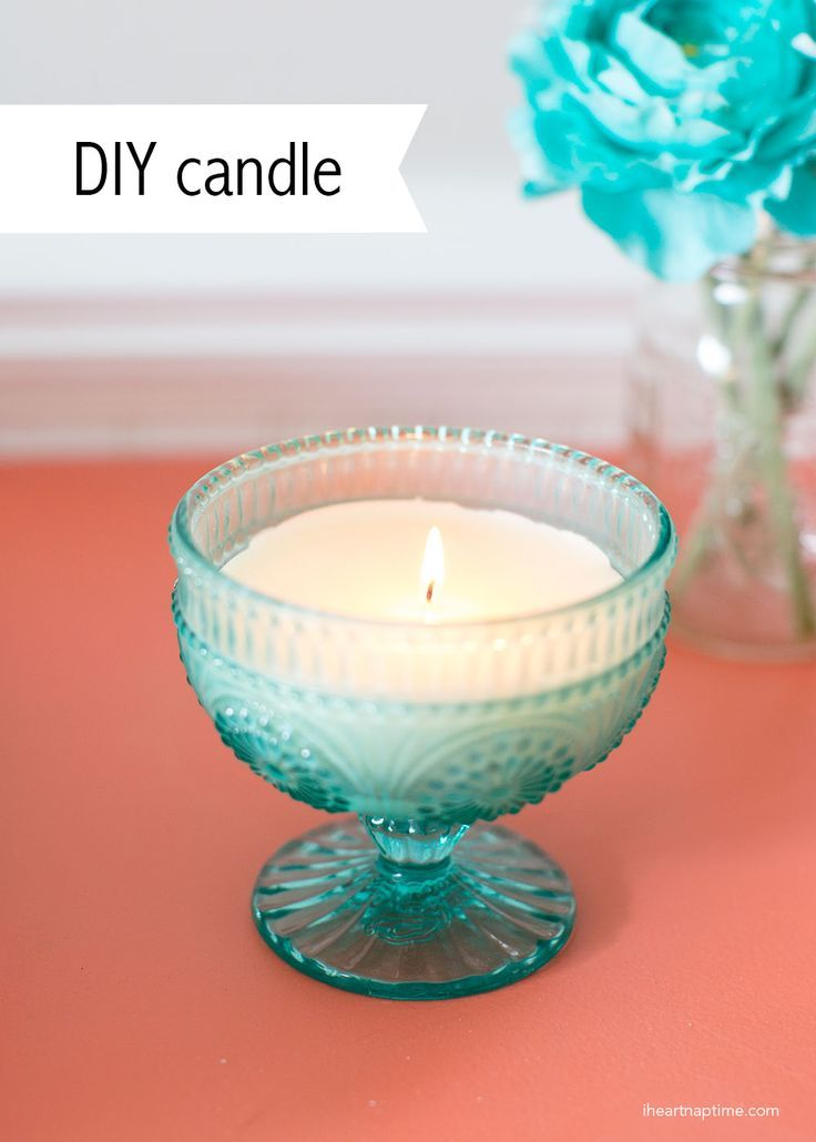 Homemade Candles Using Cute Jars And Wax Cubes Super Simple Diy Craft To Make