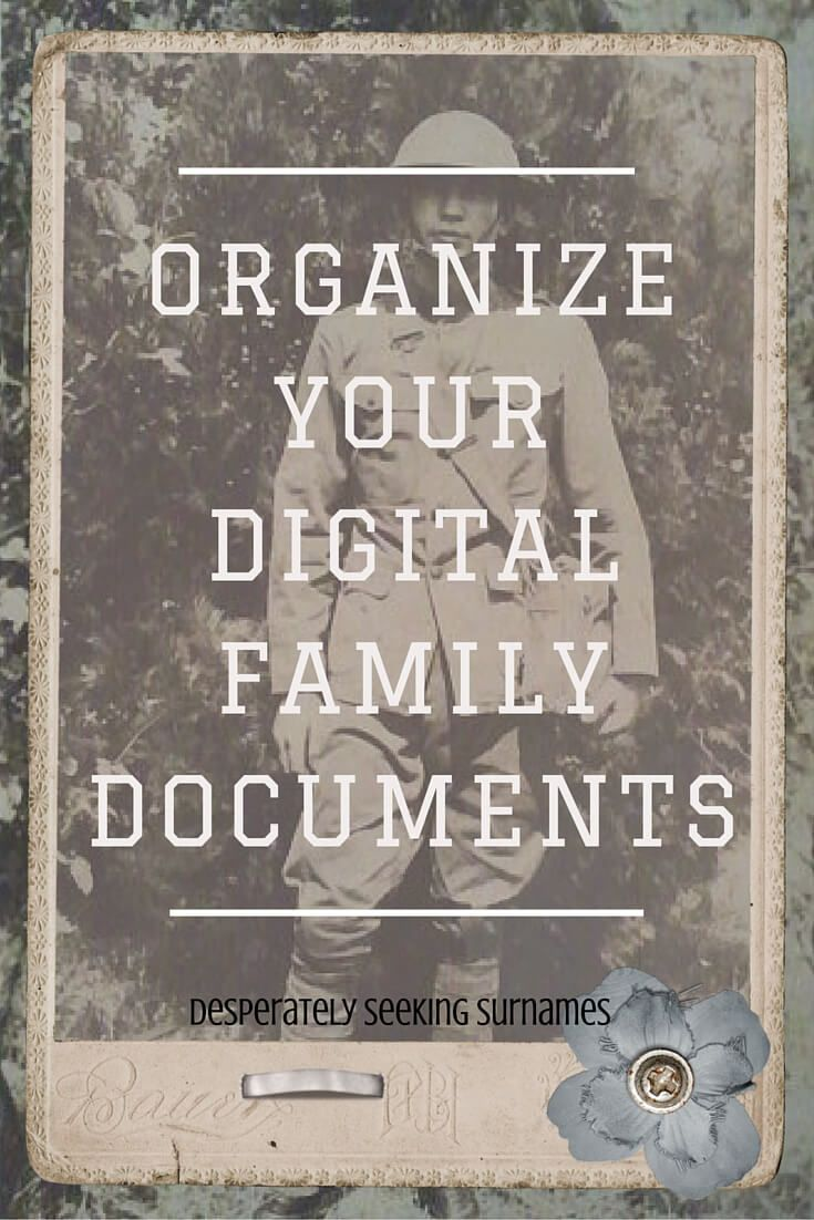 batch tagging to organize your digital family history documents desperately seeking surnames