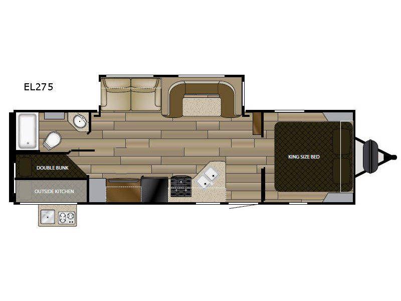 2018 Cruiser Rv Cruiser Embrace El275 For Sale Tucker Ga Rvt