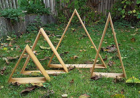 Upcycling Upcycling Modern Diywood Holzleisten Upcyclingwood Dekobaumchen Dreieckregal Upcyclingidee Weihnachtsbaum Holz Weihnachten Holz Holzleisten