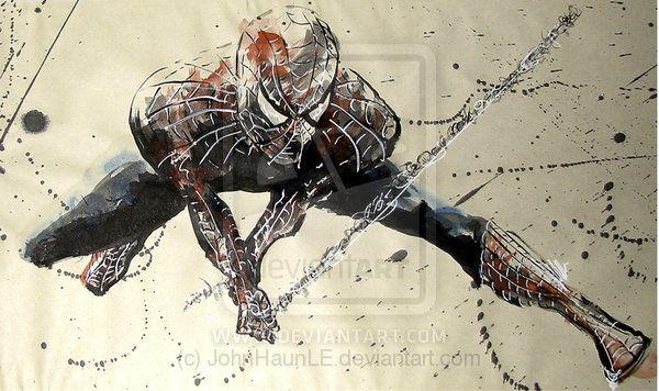 SPIDER-MAN SKETCH HAUN by JohnHaunLE on DeviantArt