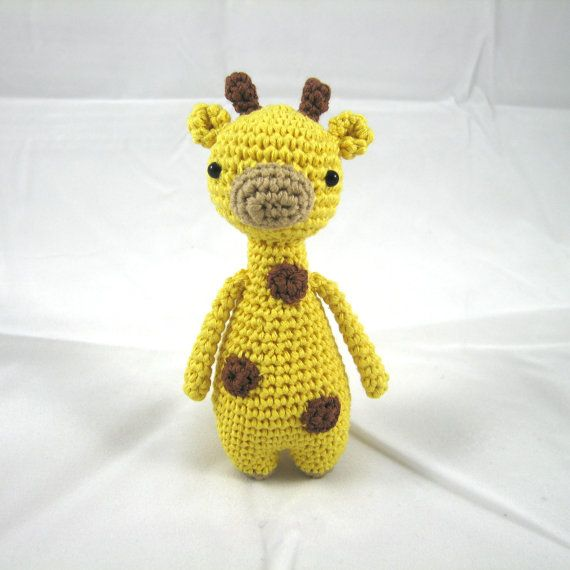 Mini Giraffe Crochet Amigurumi Pattern | Giraffe, Amigurumi and ...