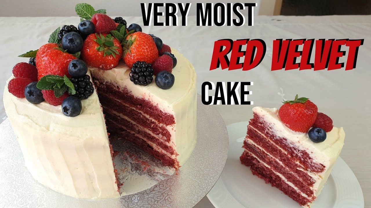 Very moist Red Velvet Cake Recipe with Silky Smooth Cream Cheese Frosting/ Mother's Day Baking #redvelvetcheesecake