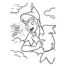print coloring image peter pan coloring pagespeter - Peter Pan Coloring Pages Print
