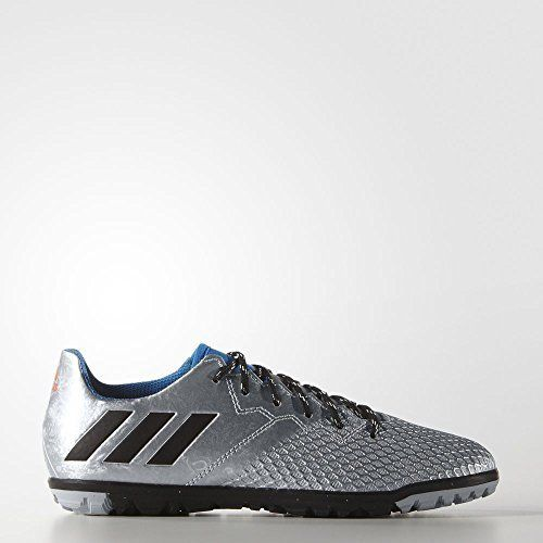 Adidas Performance Boys' Messi TF J skate zapatos , Silver Metallic