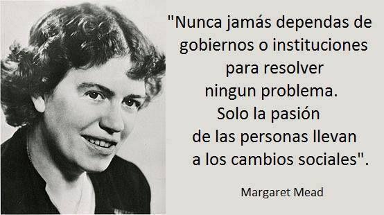 Margaret Mead Cambio Social Liderazgo Y Gobierno