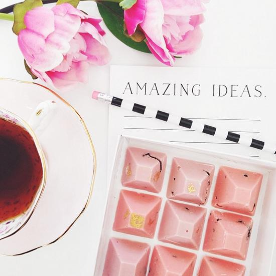 Amazing ideas. #tea #cup #pink #chocolate #flowers #peonies ...