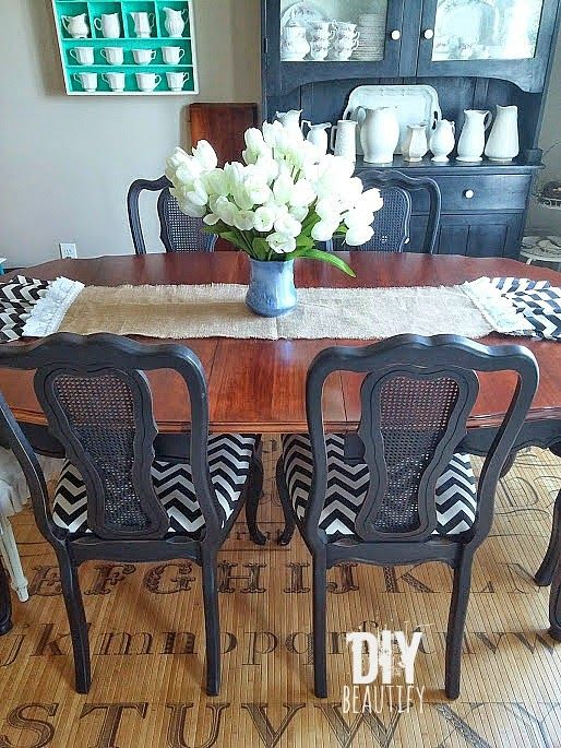 Refinishing A Dining Table Painting Furniture
