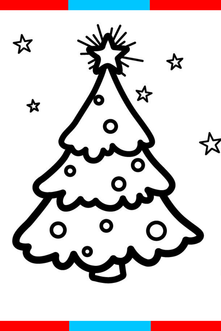 Glitter Christmas Tree Ornaments Coloring And Drawing For Kids Toddlers Kids Co Christmas Tree Drawing Christmas Tree Coloring Page Christmas Trees For Kids