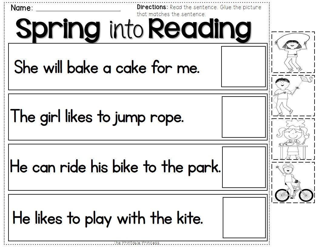 Spring Activities {Kindergarten Literacy and Math Centers} | Kind