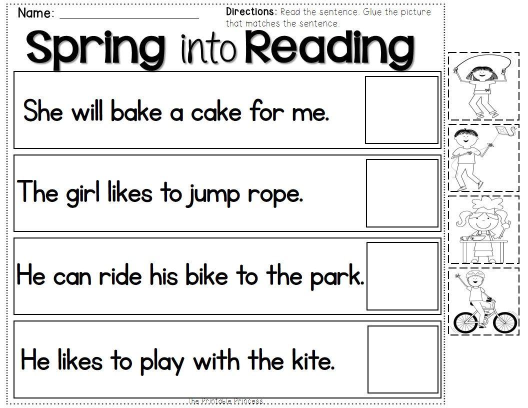 Spring Activities Kindergarten Literacy And Math Centers