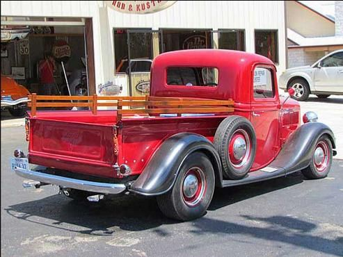37 Ford Truck work by Boerne Stage Kustoms of Center Point, Texas