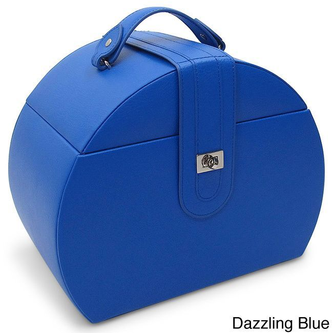 Morelle Co Diana Leather Jewelry Box with Takeaway Case