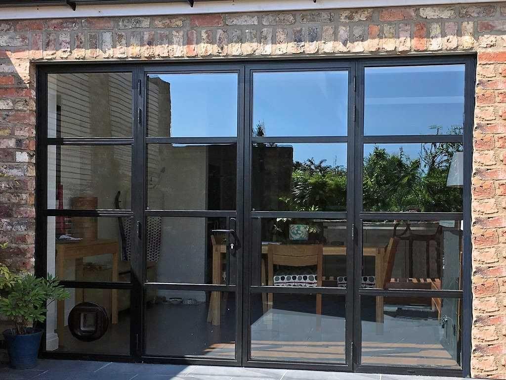 Steel Replacement Aluminium Doors York | Marlin Windows | Buildings | Pinterest | Doors Steel and Extensions & Steel Replacement Aluminium Doors York | Marlin Windows | Buildings ...