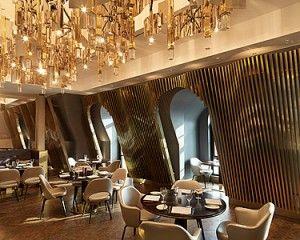 Valentine S Day Atop Four Seasons Hotel Baku Azerbaijan Hospital Interior Design Four Seasons Hotel Interior