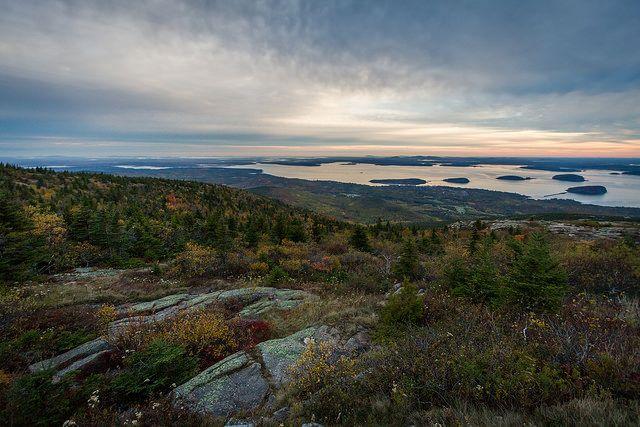 Sunrise from Cadillac Mountain - Acadia National Park